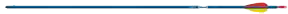 "19 Genesis 1820 Blue Arrow F/L 3"" Vanes Brite w/N Nock/Point"