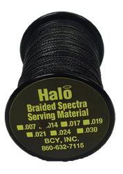 Halo Braided .014 Serving Black
