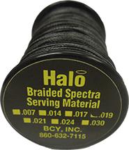 Halo Braided .019 Serving Black