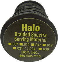 Halo Braided .024 Serving Black