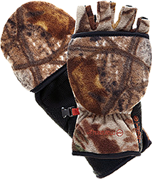 Bowhunter Convertible Glove/ Mitten Realtree Xtra Yth Small
