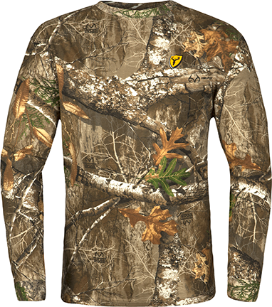 Scentblocker Long Sleeve Shirt Realtree Edge Camo Large