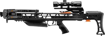 *M Mission Sub-1 Lite Crossbow Black Pro-Kit