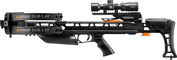 *M Mission Sub-1 XR Crossbow Black Pro-Kit