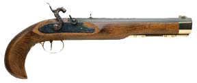 Kentucky Pistol .50 cal Percussion Select Hardwood Blue