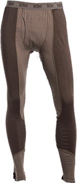 10X Thermostat Baselayer Pant Chocolate Brown/Falcon Panel L