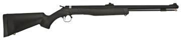 CVA Wolf 50c Black Stock/Blued Barrel