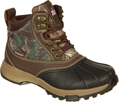 Realtree Girl Ms.Denver Boot Brown/Realtree Xtra Green Sz 7