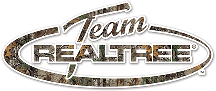 "Realtree Antler Logo Die-Cut Decal Xtra Camo 2""x6"""