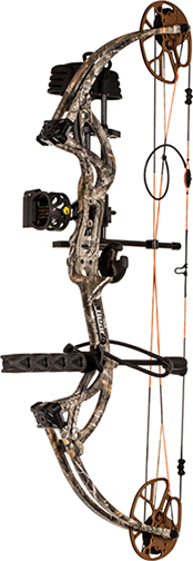 "Bear Cruzer G2 RTH Package LH 12-30"" 5-70# Realtree Edge"