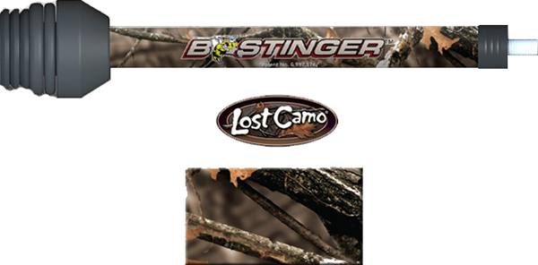"B-Stinger 6"" Sport Hunter Xtreme Stabilizer Lost Camo"