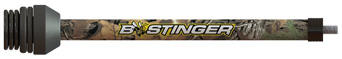 """B-Stinger 8"""" Sport Hunter Xtreme Stabilizer Xtra Camo"""