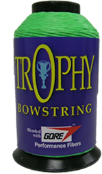 Trophy Bowstring Material Flo Green