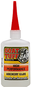 * Goat Tuff High Performance Glue 1oz Bottle