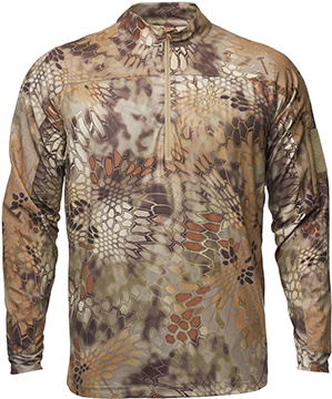 Valhalla Long Sleeve Zip Shirt Highlander 2X