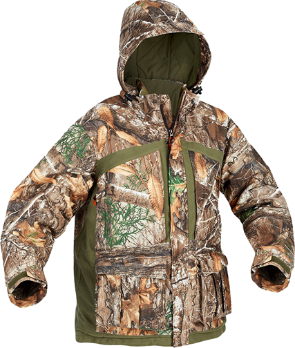 Womens Classic Elite Parka Realtree Edge Camo Large