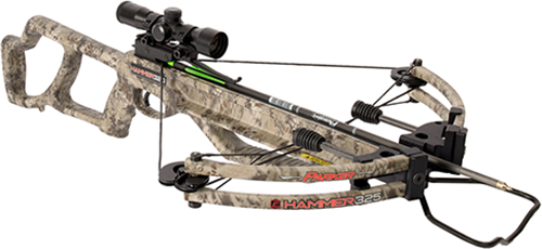 18 Hammer 325 Crossbow Package w/Illuminate MultiReticle Scope