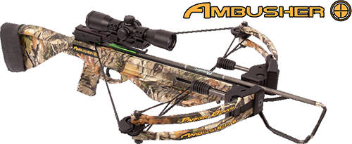 18 Ambusher Crossbow Package w/Multi Reticle Scope