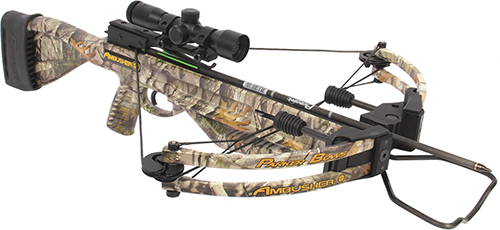 18 Ambusher Crossbow Package w/Pin Point 3X Scope