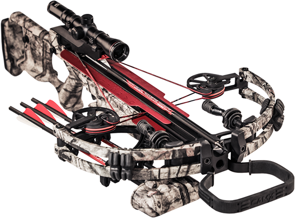 18 CamX A4 Base Crossbow Package Mossy Oak Treestamd