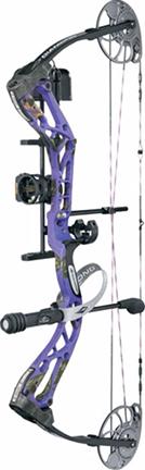 "Edge SB-1 Bow Pkg Purple Blaze Left Hand 15-30"" 7-70#"