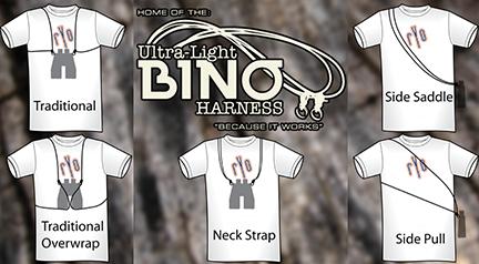 Basic Ultra Light Binocular Harness Black