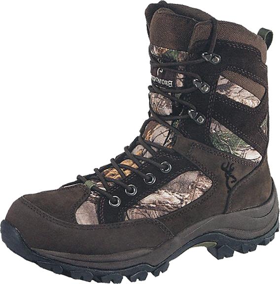 "Browning Buck Pursuit 8"" 400g Boot Bracken/Realtree Xtra Sz 9"
