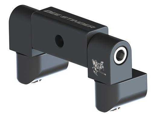B-Stinger V-Bar Block Std Wide Adjustable w/Side QD