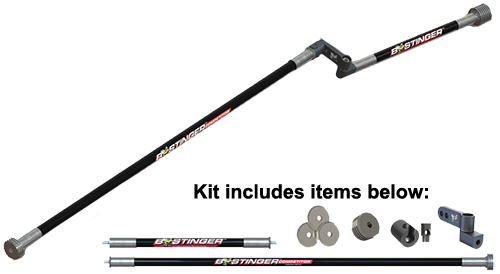 B-Stinger Competitor Freestyle Kit Matt Black