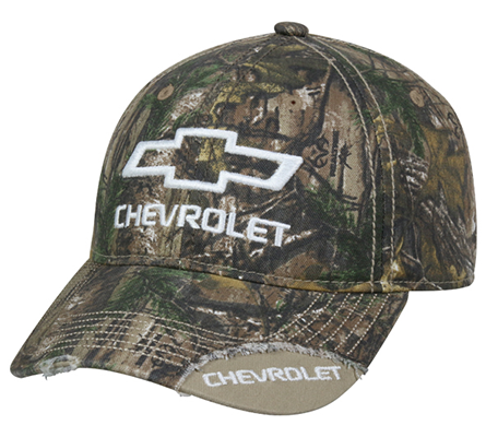 Realtree Edge Chevrolet Logo Hat