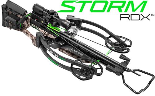 18 Storm RDX Crossbow Pkg w/3X Proview Scope+Quiver+ACUdraw