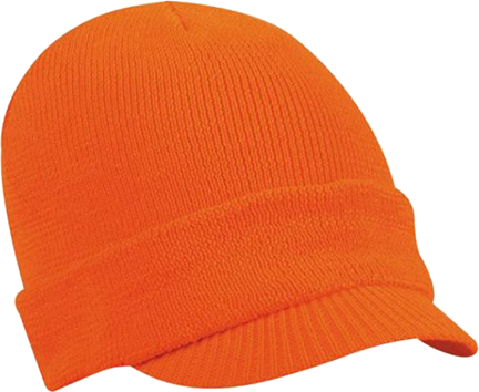 Fleece Lined Radar Cap Blaze Orange OSFM