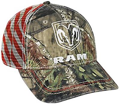 Mossy Oak Country Ram Logo Hat