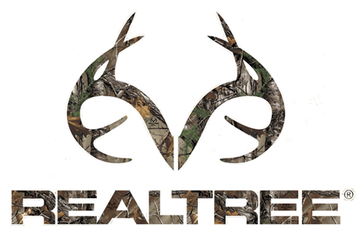 Realtree Antler Logo Die-Cut Decal Xtra Camo 3.5x5.5