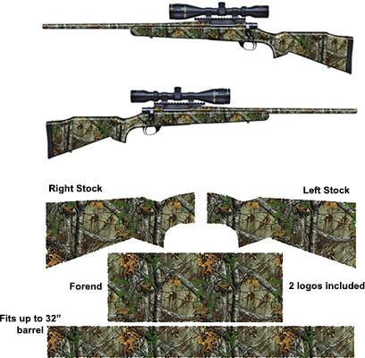 Rifle Kit Die-Cut Matte Finish Realtree Xtra