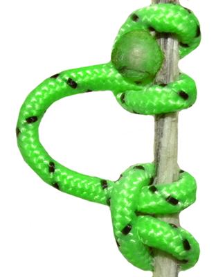 Super Loop D-Loop Release Rope Flo Green 25ft Roll