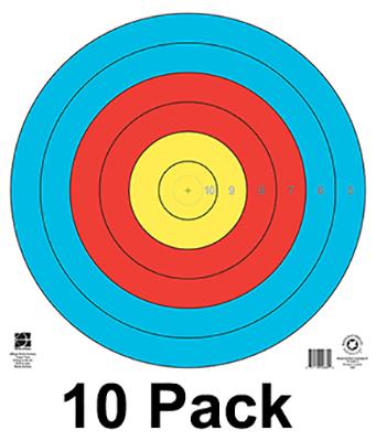 """80cm 6 Ring Target 19.75"""" X 19.75"""""""