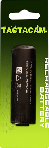 Rechargeable Battery For Tactacam 3.0 & 4.0