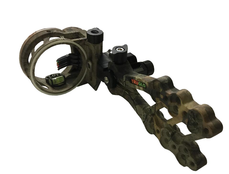 Hyper Strike 5 Pin DDP Sight w/Light Realtree Xtra Camo