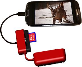 Phone Reader for Samsung/ Motorola/LG/HTC