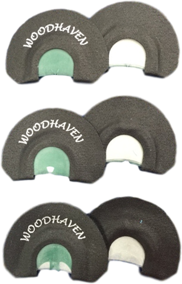 WoodHaven Ninja 3 Pack Mouth Calls