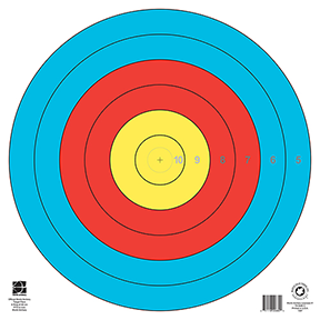 Maple Leaf 80 cm 6 Ring Target Waterproof