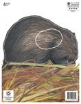 Maple Leaf NFAA Animal Faces Group 4 Muskrat