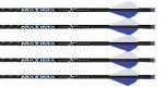 "Maxima Blue Streak 22"" Cross Bolts w/3"" Fusion Vanes"