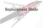 "Rage 3 Blade Chisel Tip 1.6""Cut Technology Replacment Blde 9 pk"