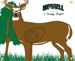 Morrell Polypropylene Target Face NASP IBO Whitetail