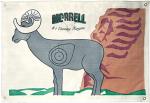 Morrell Polypropylene Target Face NASP IBO Ram