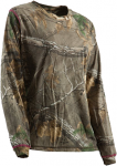 Berne Ladies Hickory L/S T-Shirt Realtree Xtra Camo M