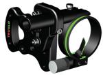 TruGlo Sight w/Light Black 1 Pin .029 RH/LH