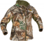 Womens Heat Echo Light Jacket Realtree Edge Camo Small